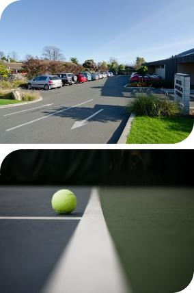 Car Park and Tennis Court Design